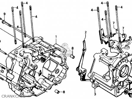 Honda Cmx250cd Rebel 250 Ltd 1986 Usa Rear Swingarm Schematic