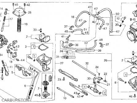 Honda Cmx C Rebel Usa Carburetor Mediumhu F Ff on evo cam cover diagram