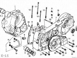 Honda Cn250 Fusion 1986 g Japan Mf02-100 E-15