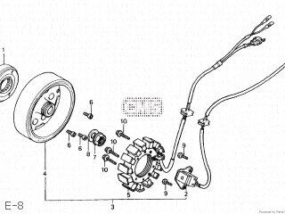 Honda Cn250 Fusion 1986 g Japan Mf02-100 E-8