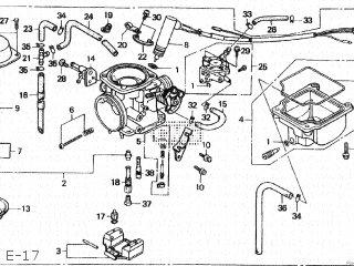 Honda Cn250 Fusion 1993 p Japan Mf02-140 E-17