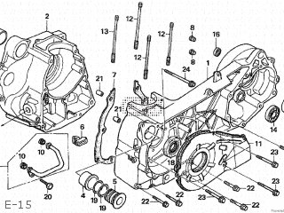 Honda Cn250 Fusion 2004 4 Japan Mf02-210 E-15