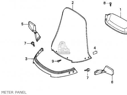 Honda Cn250 Helix 1986 G Usa Parts Lists And Schematics