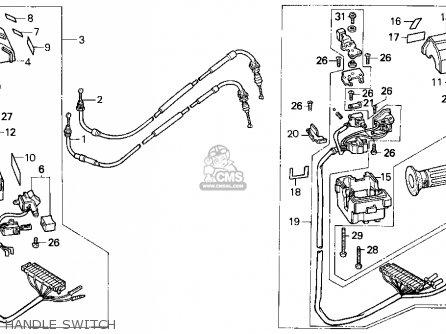 Honda Cn250 Helix 1987 h Usa Handle Switch