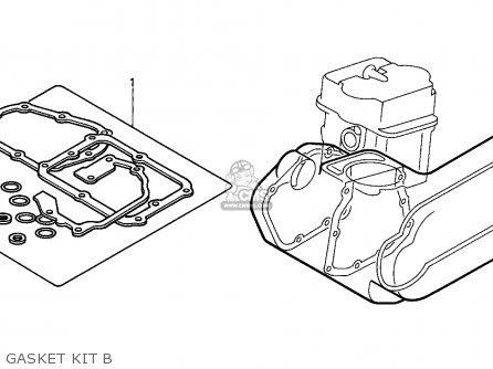 Honda Cn250 Helix 1988 j France Kph Yb Gasket Kit B