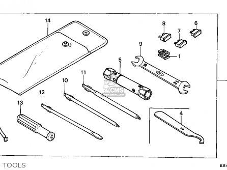Honda Cn250 Helix 1988 j France Kph Yb Tools