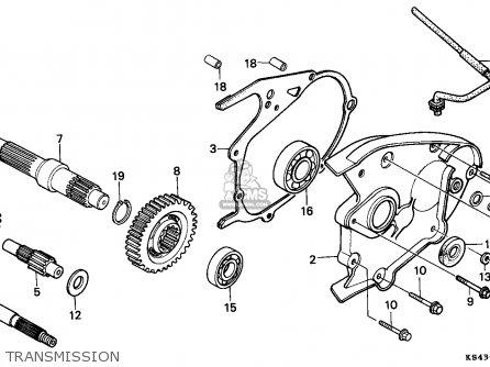 Honda Cn250 Helix 1988 j France Kph Yb Transmission