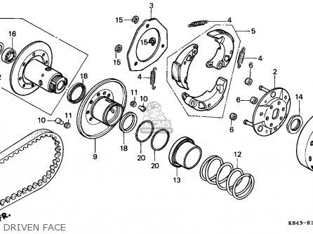 Honda Cn250 Helix 1991 m England Mph Driven Face