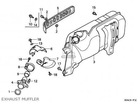 Honda Cn250 Helix 1991 m Italy Kph Exhaust Muffler