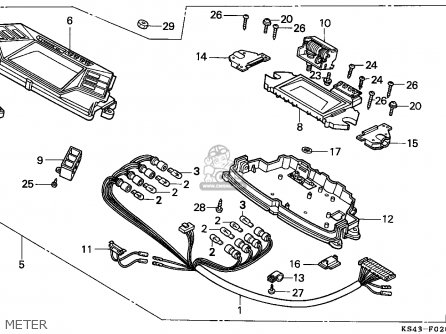 Honda Cn250 Helix 1991 m Italy Kph Meter