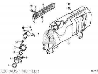 Honda Cn250 Helix 1996 t Switzerland Kph Exhaust Muffler