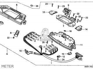 Honda Cn250 Helix 1996 t Switzerland Kph Meter