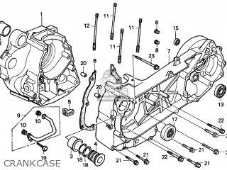 Honda Cn250 Helix 1997 v England Mph Crankcase