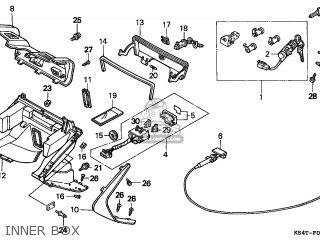 Honda Cn250 Helix 1997 v England Mph Inner Box