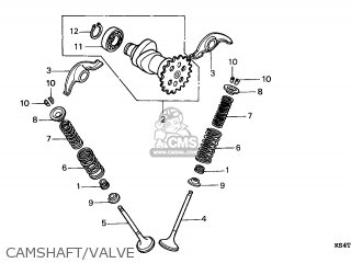 Honda Cn250 Helix 1997 v France Kph Camshaft valve