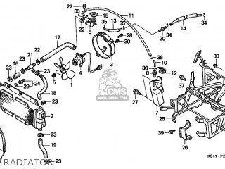 Honda Cn250 Helix 1997 v France Kph Radiator