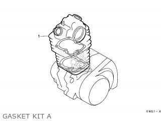 Honda Cn250 Helix 1997 v Italy Kph Gasket Kit A