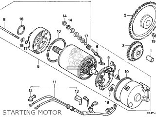 Honda Cn250 Helix 1997 v Italy Kph Starting Motor