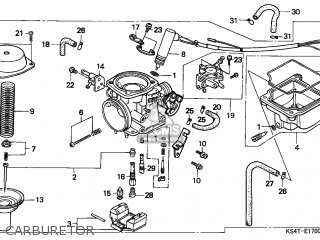 Honda Cn250 Helix 1997 v Switzerland Kph Carburetor