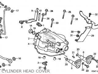 Honda Cn250 Helix 1997 v Switzerland Kph Cylinder Head Cover