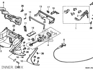 Honda Cn250 Helix 1997 v Switzerland Kph Inner Box