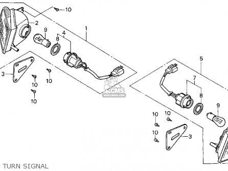Honda Cn250 Helix 1997 v Usa Turn Signal