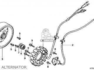 Honda Cn250 Helix 1998 w Usa Alternator
