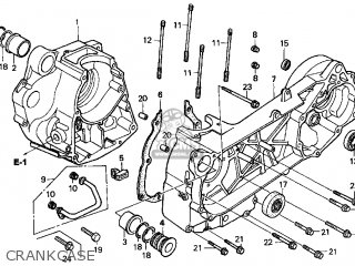 Honda Cn250 Helix 1998 w Usa Crankcase