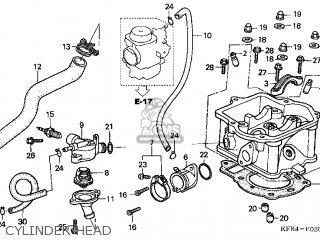 Honda Cn250 Helix 1998 w Usa Cylinder Head