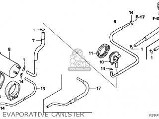 Honda Cn250 Helix 1998 w Usa Evaporative Canister