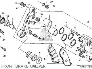 Honda Cn250 Helix 1998 w Usa Front Brake Caliper
