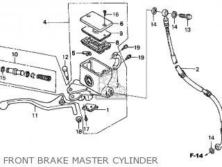 Honda Cn250 Helix 1998 w Usa Front Brake Master Cylinder