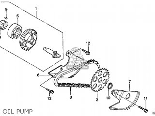 Honda Cn250 Helix 1998 w Usa Oil Pump