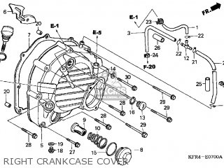 Honda Cn250 Helix 1998 w Usa Right Crankcase Cover