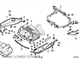 Honda Cn250 Helix 1998 w Usa Trunk Lower Cover