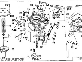 Honda Cn250 Helix 1999 x Usa Carburetor