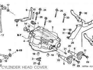 Honda Cn250 Helix 1999 x Usa Cylinder Head Cover