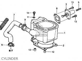 Honda Cn250 Helix 1999 x Usa Cylinder