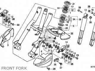 Honda Cn250 Helix 1999 x Usa Front Fork