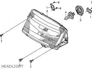Honda Cn250 Helix 1999 x Usa Headlight