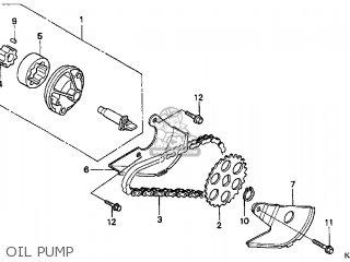 Honda Cn250 Helix 1999 x Usa Oil Pump
