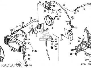 Honda Cn250 Helix 1999 x Usa Radiator