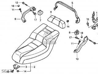 Honda Cn250 Helix 1999 x Usa Seat