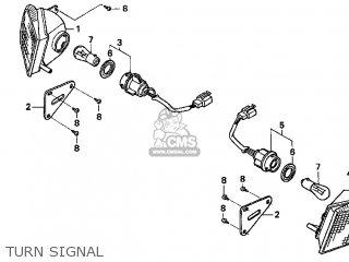 Honda Cn250 Helix 1999 x Usa Turn Signal