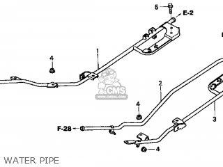 Honda Cn250 Helix 1999 x Usa Water Pipe