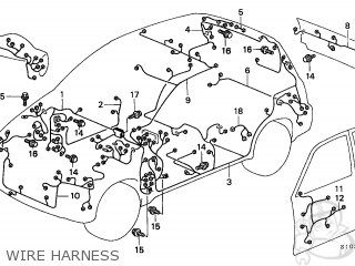 honda cr v 1998 w 5dr ex ka kl parts lists and schematics 2017 Honda CR-V Interior wire harness