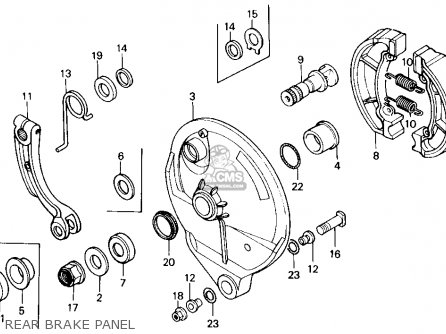 Honda Cr125r 1986 G Usa Parts Lists And Schematics