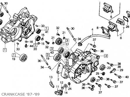 Honda CR125R 1987 (H) USA parts lists and schematicsCmsnl.com