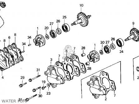 honda cr125r 1988 j usa parts lists and schematics rh cmsnl com