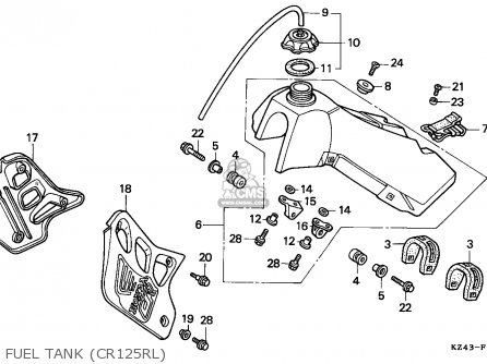 Suzuki Quadrunner 250 Parts Diagram